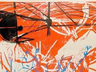 Continental.   Exposição consegue contemplar artistas das cinco regiões do país, como Fabricio Lopez