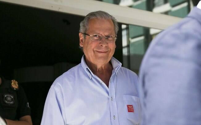 Ex-ministro José Dirceu foi preso novamente na última sexta-feira