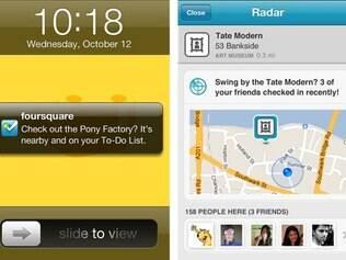 Recurso Radar mostrará mensagem de notificação para usuário