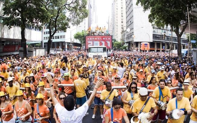 Desfile do Monobloco em 2011