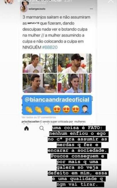 Bianca Andrade no Instagram