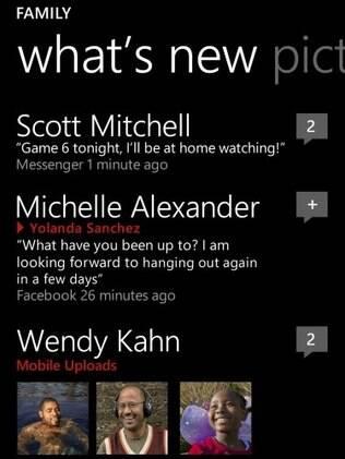 Quadrados e retângulos são marca do Windows Phone 7.5