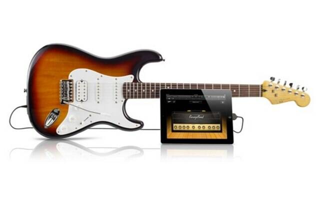 Guitarra Fender funciona conectada ao iPhone ou iPad e é compatível com aplicativo Garage Band