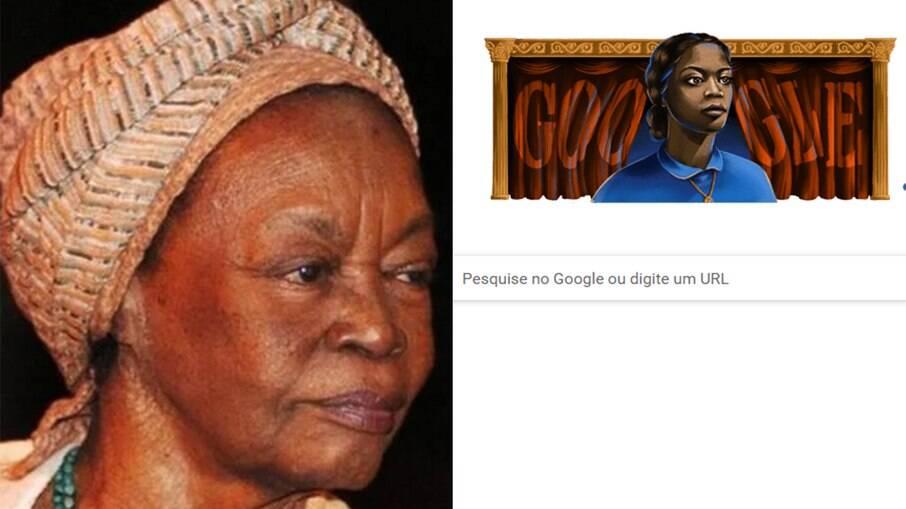 Google homenageia a atriz Ruth de Souza