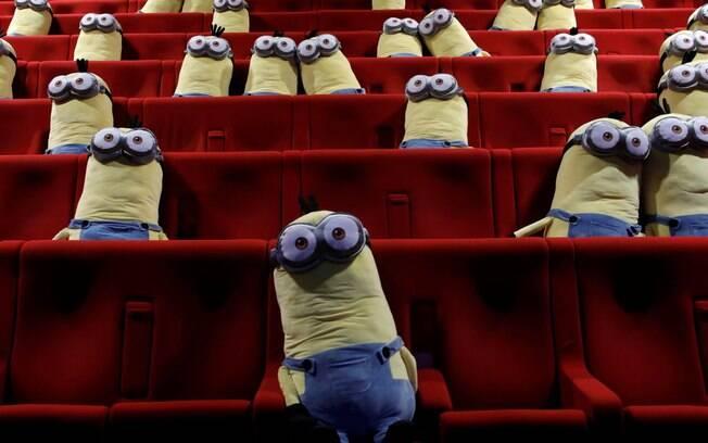 A ação no cinema MK2 culminou com a exibição de