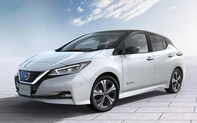 Nissan Leaf será o principal lançamento da marca no mercado automotivo. March e Versa serão reestilizados