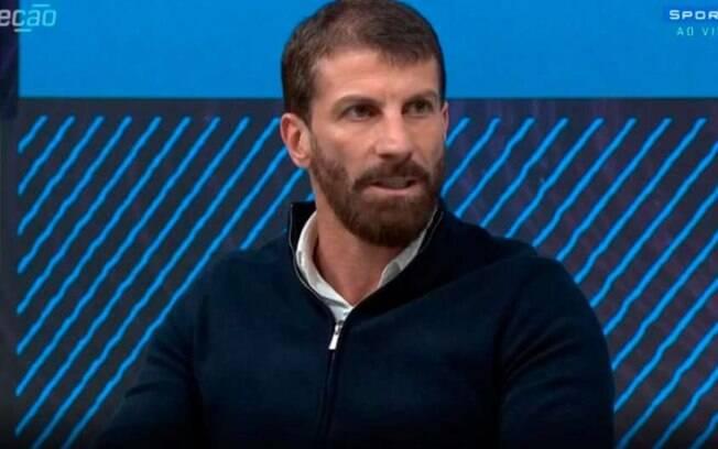 Pedrinho, comentarista do SporTV