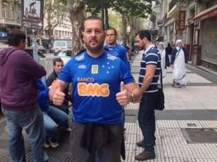 Médico Itamar Fonseca saiu de São Paulo para assistir o Cruzeiro, em Buenos Aires