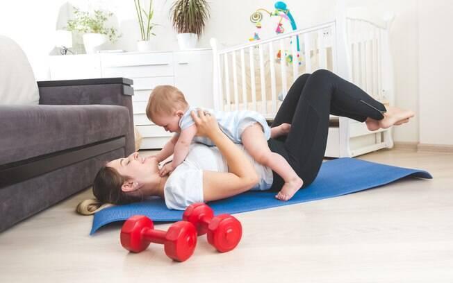 Atividade física e amamentação são ações conciliáveis