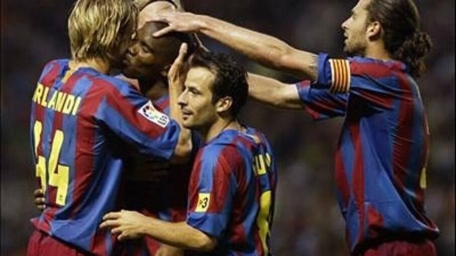 Andrea Orlandi recordou tempos de Barcelona