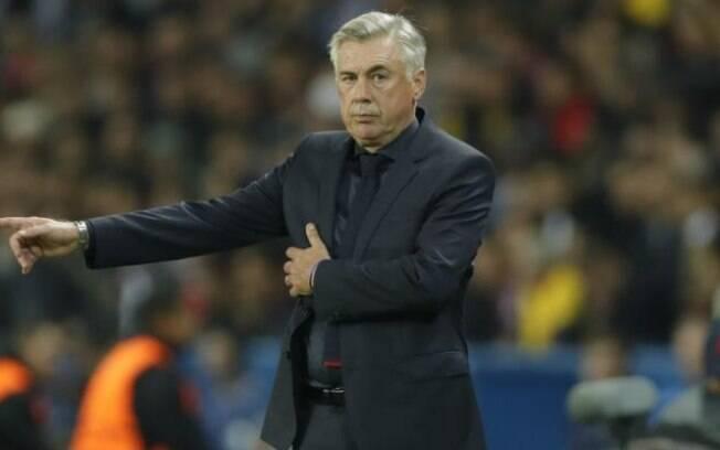 Carlo Ancelotti não atendeu às expectativas e foi demitido do Bayern de Munique após um ano de trabalho