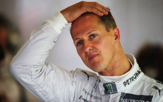 Mercedes foi a última equipe de Michael Schumacher na Fórmula 1