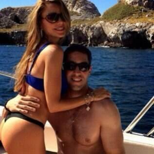 Sofia Vergara está aproveitando as férias no México