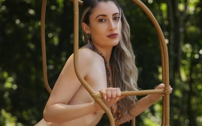 Gisele Gama em ensaio sexy para o Diamond Brazil