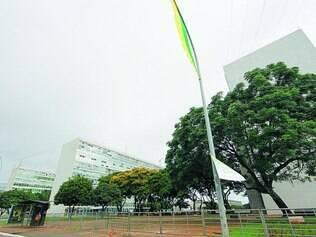 Bloco O. Prédio ao lado do Ministério da Fazenda abrigava estruturas militares e será reformado