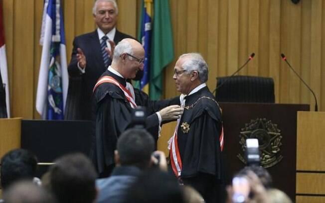 Novo presidente do Tribunal Superior do Trabalho (TST), João Batista Brito Pereira tomou posse nesta segunda-feira