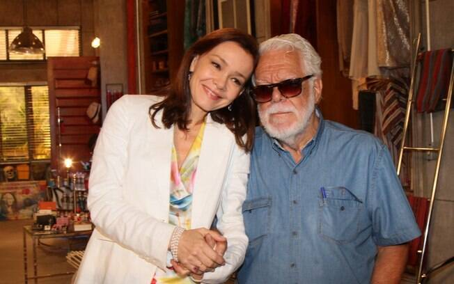 Julia Lemmertz e Manoel Carlos