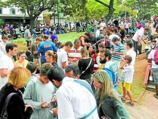 Encontro. Praça República do Líbano, na Barragem Santa Lúcia tem recebido centenas de colecionadores todos os fins de semana