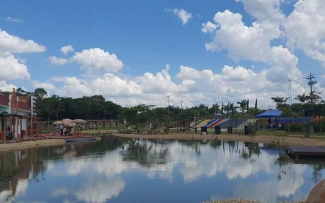 Holambra inaugura Parque Cidade das Crianas gratuito