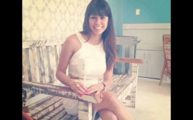 Reprodução da conta do Instagram de Taiana Camargo, capa da Playboy de janeiro e ex-namorada do doleiro Alberto Youssef. Foto: Reprodução/Instagram