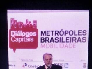 Intervenção durante fala de Márcio Lacerda sobre Mobilidade Urbana