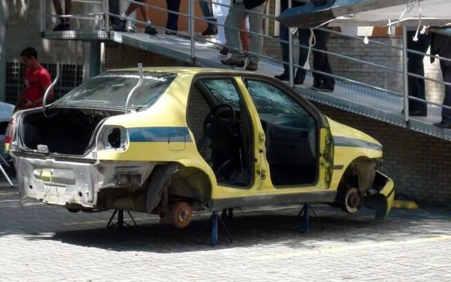 Luciano Huck reformará carro de Wilma, personagem de Arlete Salles, em