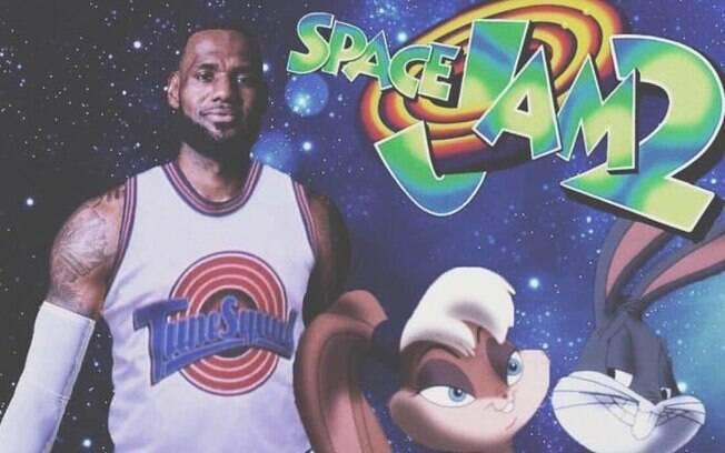 LeBron será o astro de Space Jam 2