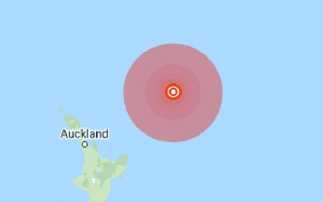 Terremoto na Nova Zelândia