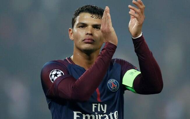 Thiago Silva estaria na mira do Everton