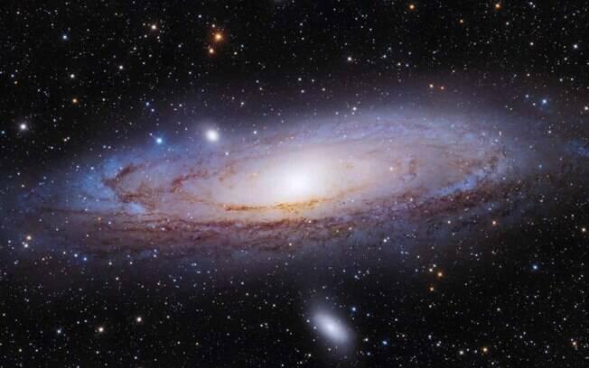 Estudo da Universidade de Michigan mostrou que Andrômeda pode ter 'engolido' o irmão perdido da Via Láctea
