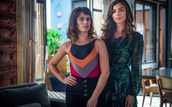 Lívia deveria infernizar a vida de Clara, mas acabou se tornando vítima da mesma pessoa: Sophia