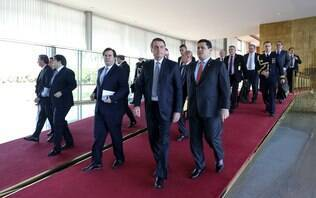 Bolsonaro pede apoio a Alcolumbre para aprovação da reforma administrativa