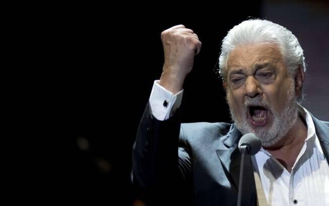 Placido Domingo iria cantar na abertura dos Jogos Olímpicos