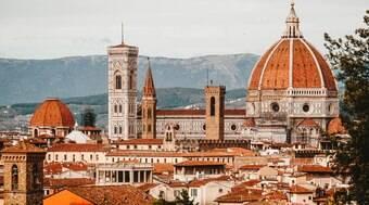 Capital da Toscana é o lar de 40% do acervo artístico de toda a Itália