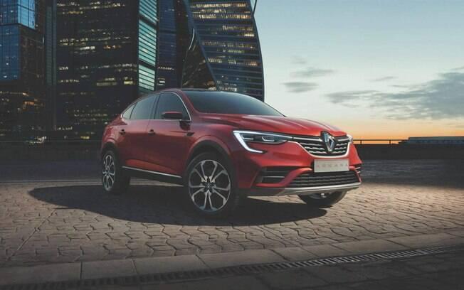 Renault Arkana com ares de cupê será o SUV mais sofisticado da marca na Rússia. No Brasil, seria rival do Jeep Compass