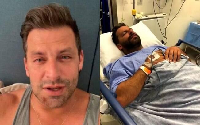 Henri Castelli vai parar em hospital após agressão