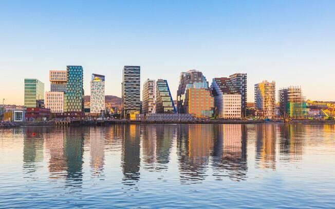 Oslo é a cidade da Noruega que mais faz sucesso entre os turistas e é uma indicação de lugares para viajar em 2019
