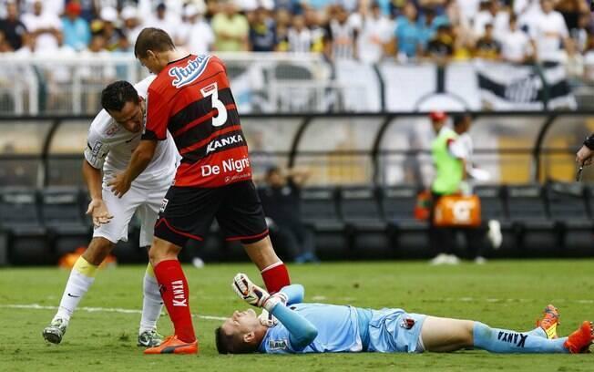 Vagner, goleiro do Ituano, foi herói do título do Ituano no Paulistão 2014. Na final contra o Santos, ele pegou o pênalti batido por Neto