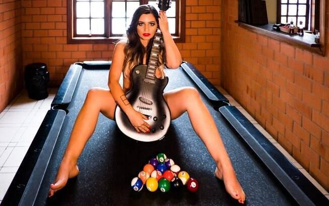 Anne Monteiro, estrela do último ensaio sensual do Você Naked que foi publicado em dezembro de 2017