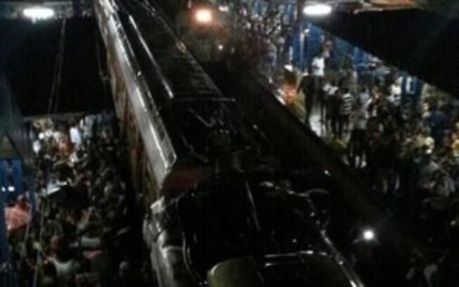 Colisão de trens no Rio de Janeiro