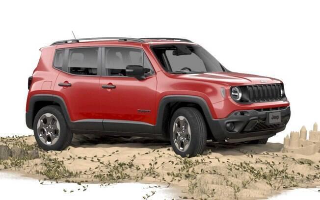 Jeep Renegade: nova versão STD vem com rodas de aro 16 e sem pintura nos para-choques, retrovisores e maçanetas