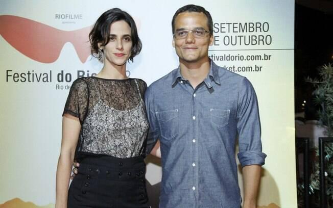 Wagner Moura e Mariana Lima, os protagonistas do filme