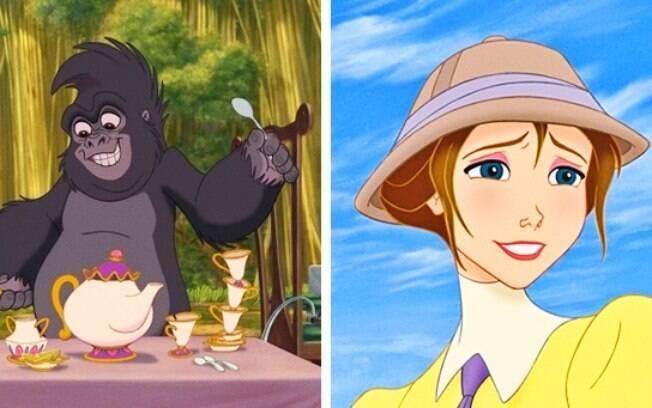 Jane, do Tarzan, é neta da Bela