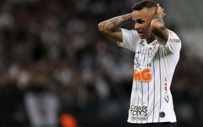 Luan, jogador do Corinthians