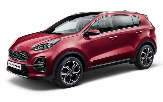 Kia Sportage: novos detalhes deixarm o SUV com visual mais arrojado e com esportividade reforçada
