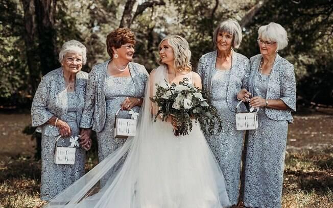 avós floristas de casamento emocionam internet