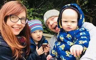Bebê de um ano pega catapora e quase morre após desenvolver infecção grave