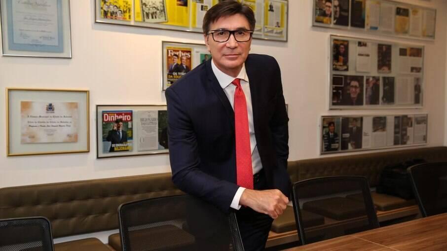 Janguiê Diniz, presidente do Instituto Êxito de Empreendedorismo e fundador do Grupo Ser Educacional