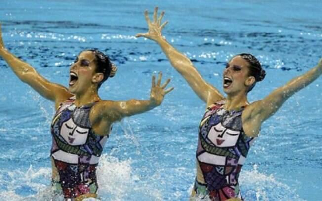 Lara Teixeira participou do dueto em Londres 2012 e agora fará parte da equipe do nado sincronizado