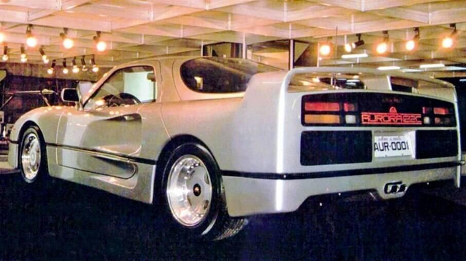 AURORA 122-C TURBO vinha com motor do Monza, mas turbinado